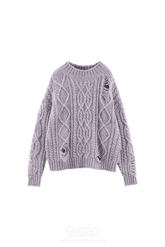 毛衣来自PEACEBIRD WOMEN 售价599元