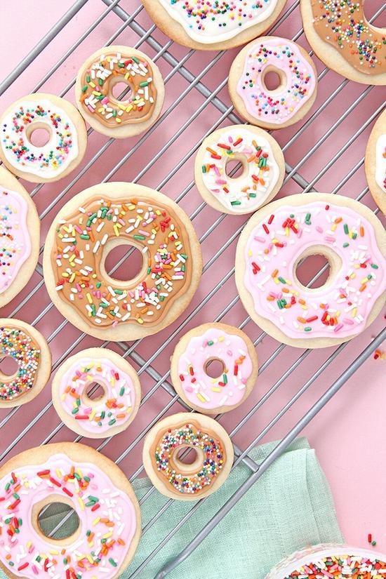 自制多彩甜甜圈 csgo源自keikolynn.com