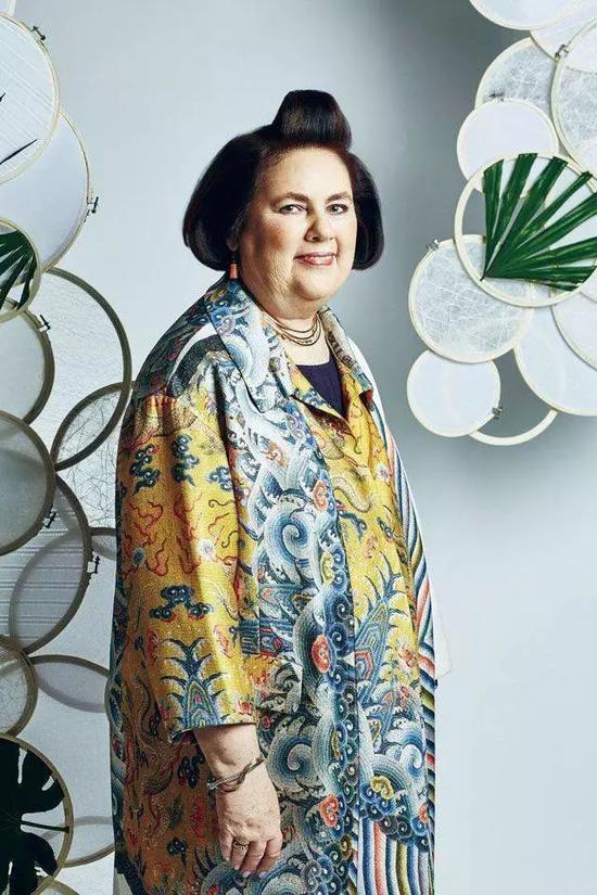 Vogue编辑、知名时装评论人Suzy Menkes