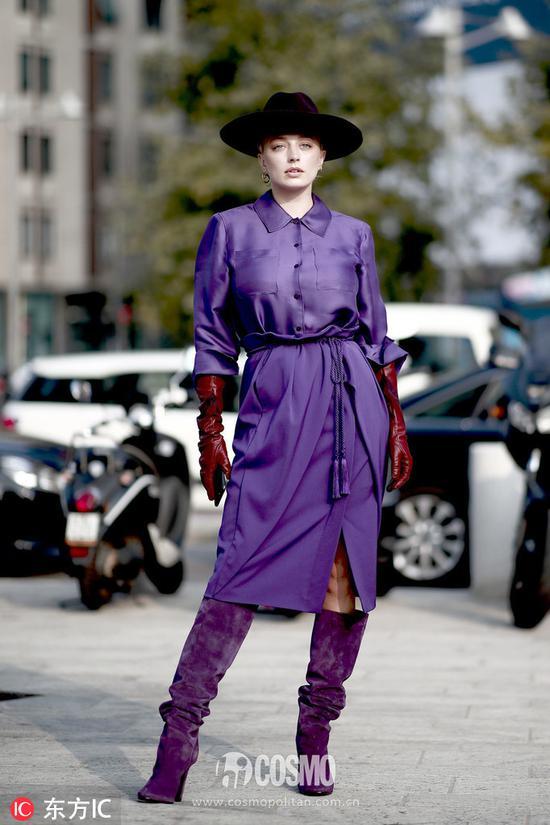 时尚博主 Caroline Vreeland