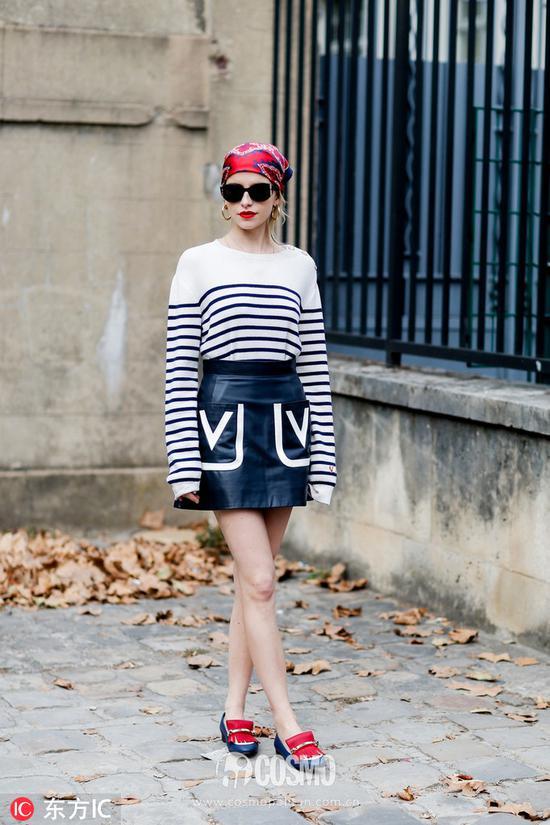 时尚博主 blogger Caroline Daur