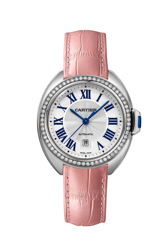 Cartier全新卡地亚钥匙腕表 图片源自品牌