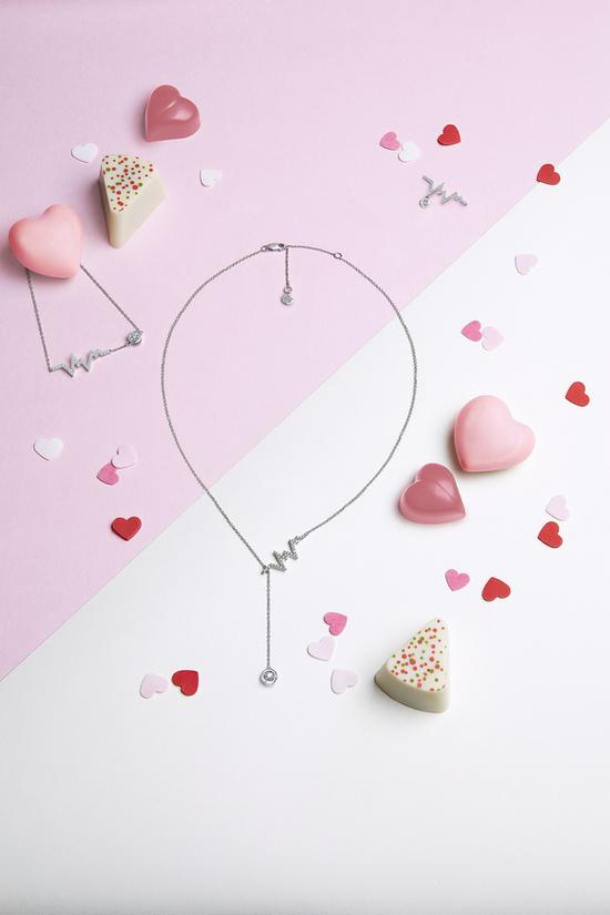 英皇珠宝x容祖儿Heartbeat心动系列 图片源自品牌