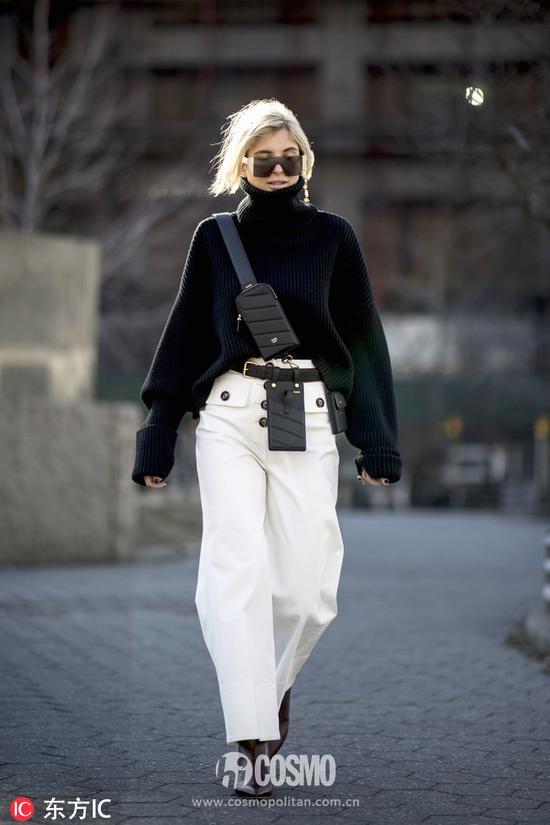 时尚博主 blogger Xenia Adonts