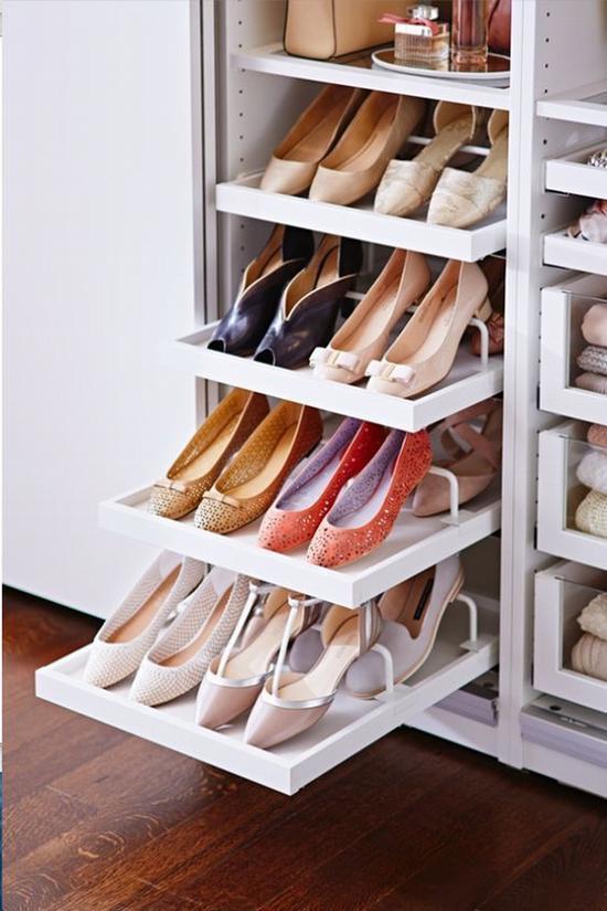 给鞋子们找个安家之所 图片源自glamourparis.com