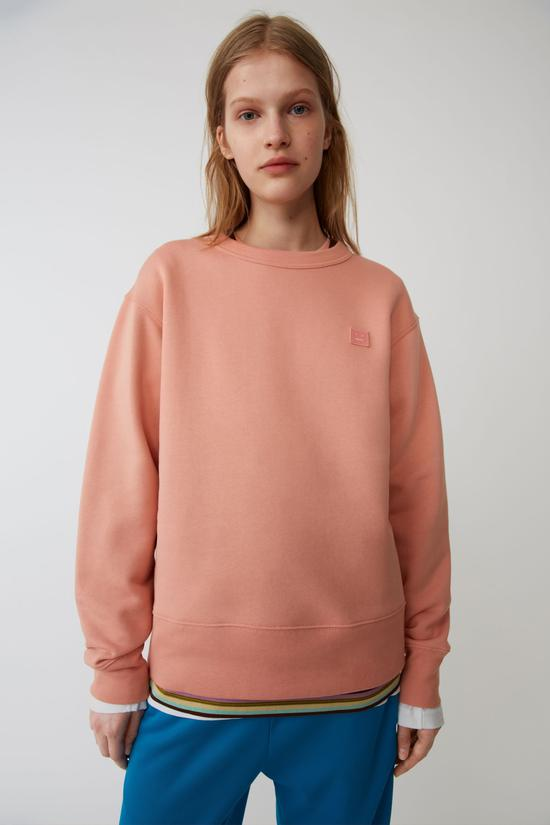 粉色圆领卫衣 Acne Studios
