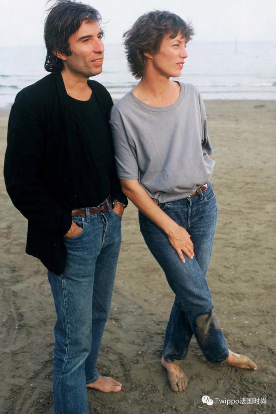 Jane Birkin和Jacques Doillon