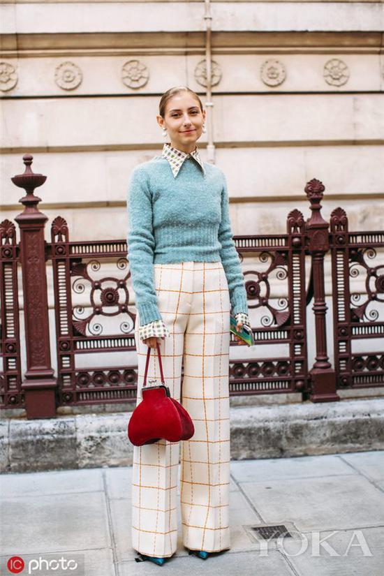 永不out的时尚选择是什么 格纹元素绝对经典又耐穿西裤半裙格纹