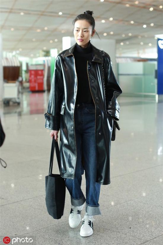 最A的时尚单品刘雯的皮风衣谁都想要