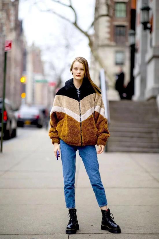 摇粒绒外套才是冬季新宠儿赶时髦全靠它