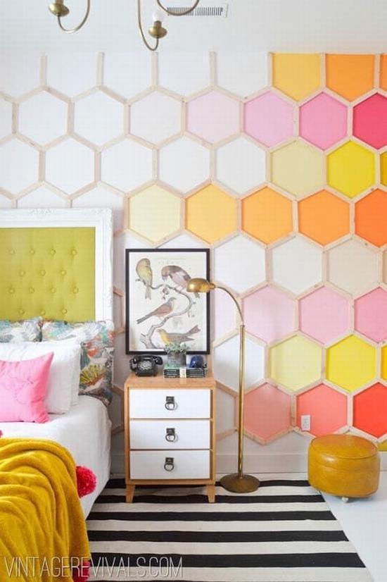 墙面填充图案 图片源自onekindesign.com