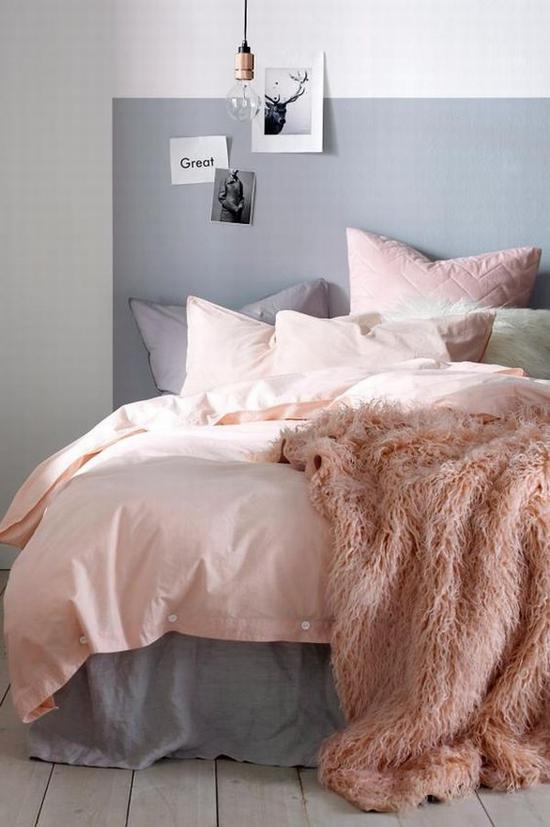全是粉色也能有层次感 图片源自www.kk. no