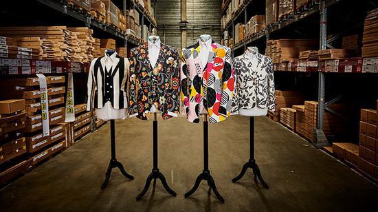 宜家联手萨维尔街裁缝 推出家居布艺面料西装三件套