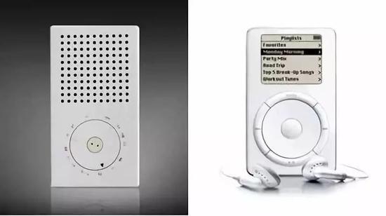 ▲博朗 T3 便携式收音机与 iPod