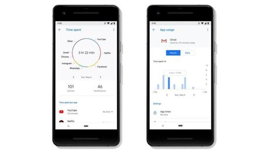 Android P 中加入了 Digital Wellbeing