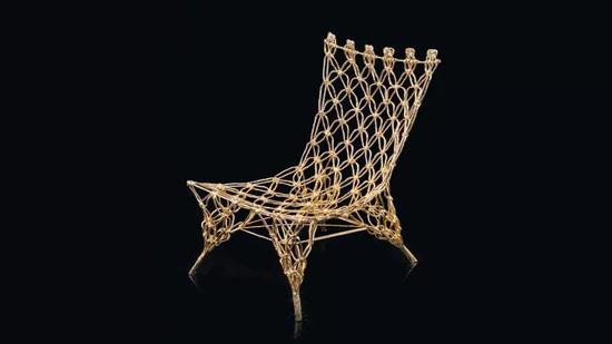 全球仅有1000把的经典结绳椅(Knotted Chair)