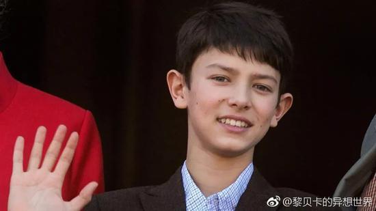 尼古拉王子少年时期