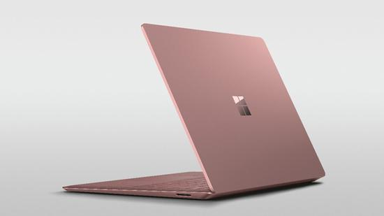 Surface Laptop 2 灰粉金版 图片源自品牌