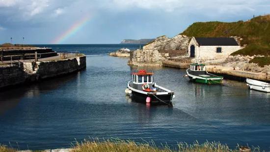 巴林托伊港(Ballintoy Harbour),北爱尔兰