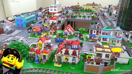 整个乐高城市由你来建造!图片来源:Youtube
