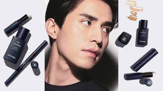 Boy  de  Chanel男士化妆品系列 图片来源:CHANEL