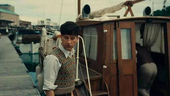 电影《敦刻尔克》,穿费尔岛毛衣的渔夫