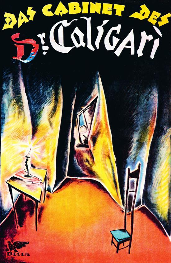《卡里加里博士的小屋》 (1920)