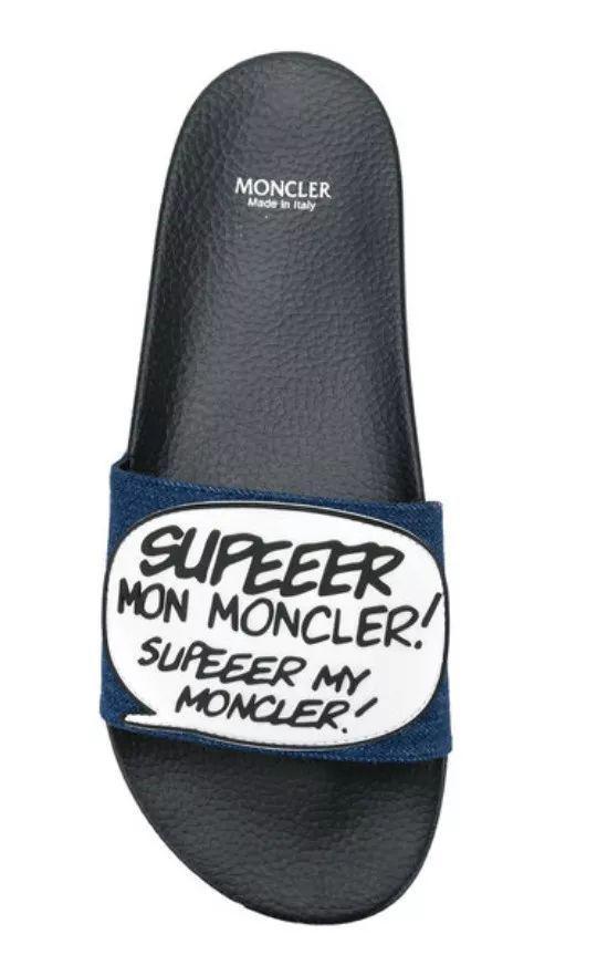Moncler New Basile拖鞋 ¥1,675