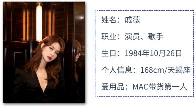 图源:微博@戚薇/百度百科