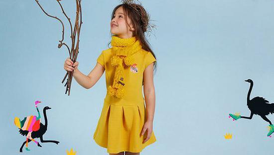Kidiliz集团旗下童装品牌Catimini 图片来源:Catimini