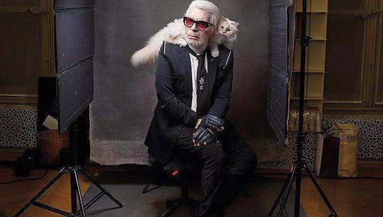 Karl Lagerfeld(图片来源:Vanity Fair)