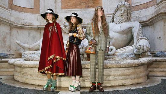 Gucci 2020度假系列(图片来源:WWD)