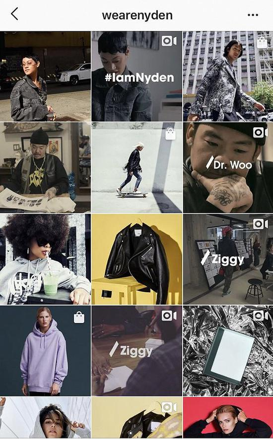 Nyden的Instagram主页