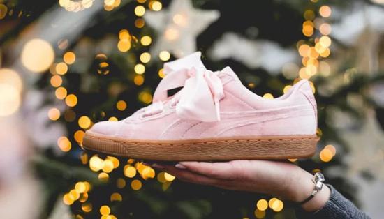 Puma Basket Heart VS 女子休闲运动鞋