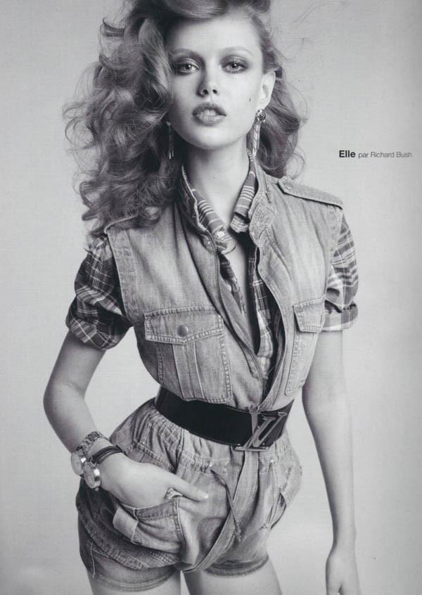 弗丽达·古斯塔夫松 (Frida Gustavsson) 演绎《Numero》时尚大片