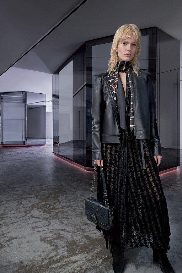 Longchamp 2018秋冬系列(图片来源:Pinterest)