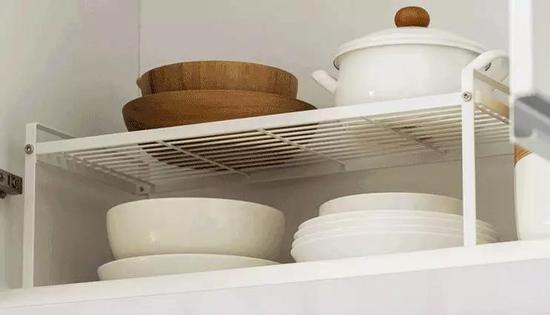 懒角落 厨房铁艺分层置物架