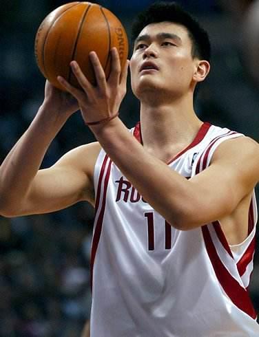 姚明征战NBA
