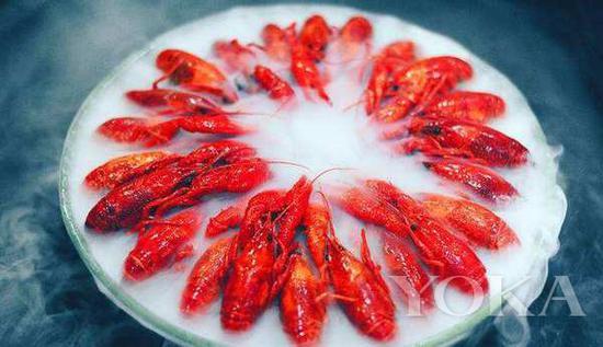 冰鎮小龍蝦 圖片來自海洛