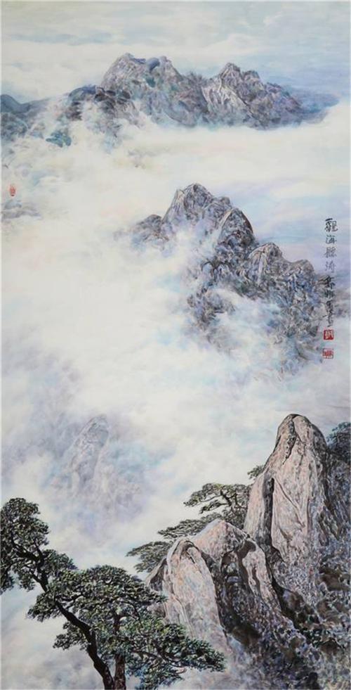 《黄山美景图5》