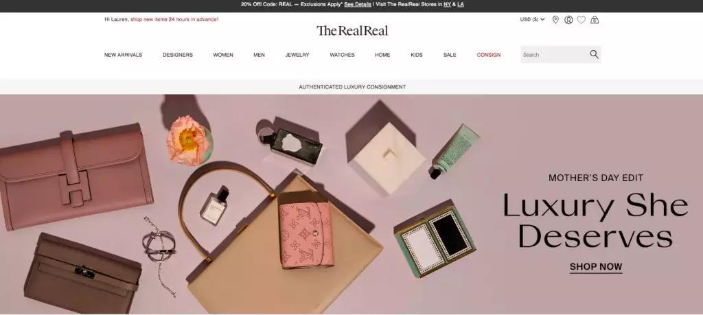 二手奢侈品电商平台The RealReal将于下周上市|奢侈品|电商