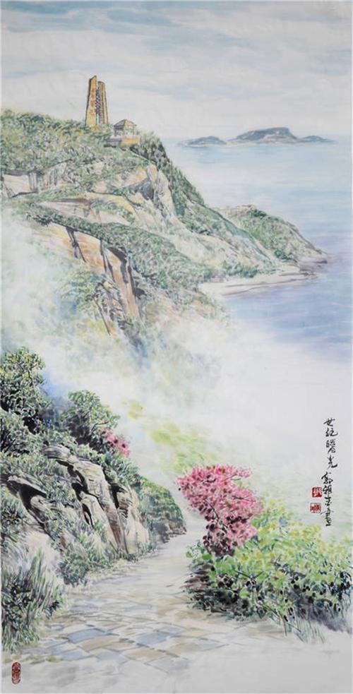 《雁荡山景图6》