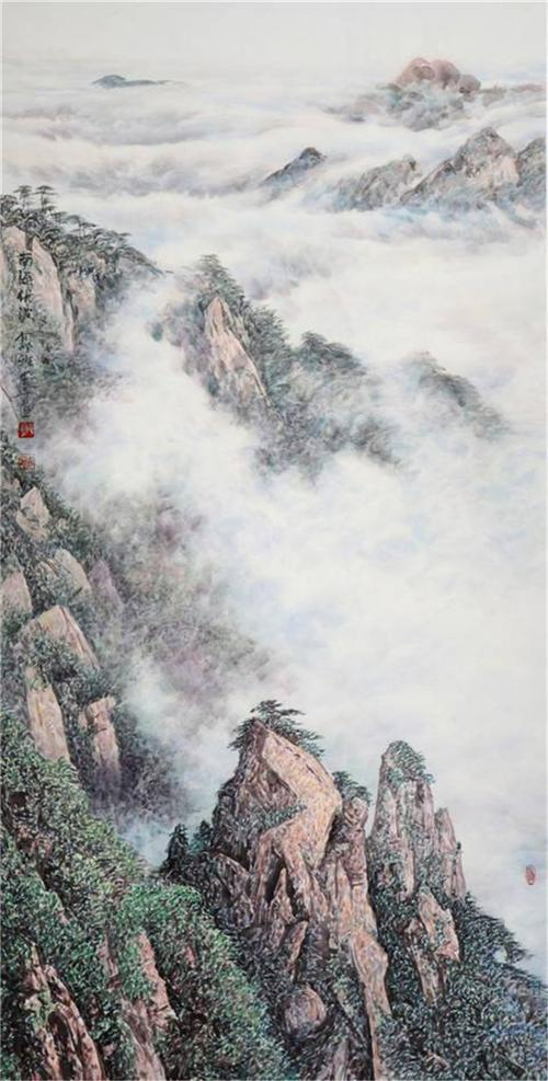 《黄山美景图3》