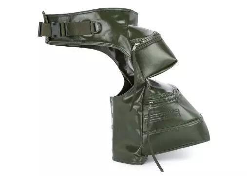 RICK OWENS双包袋棉质工装腰包 ¥6,493