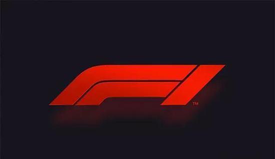 F1 在去年年底换了全新的 logo ,长这样