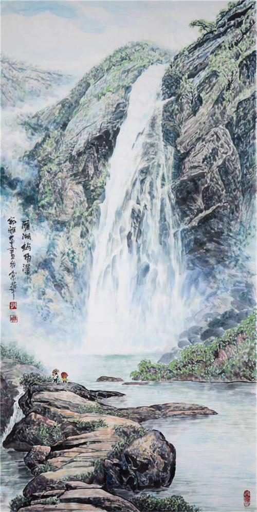 《雁荡山景图7》