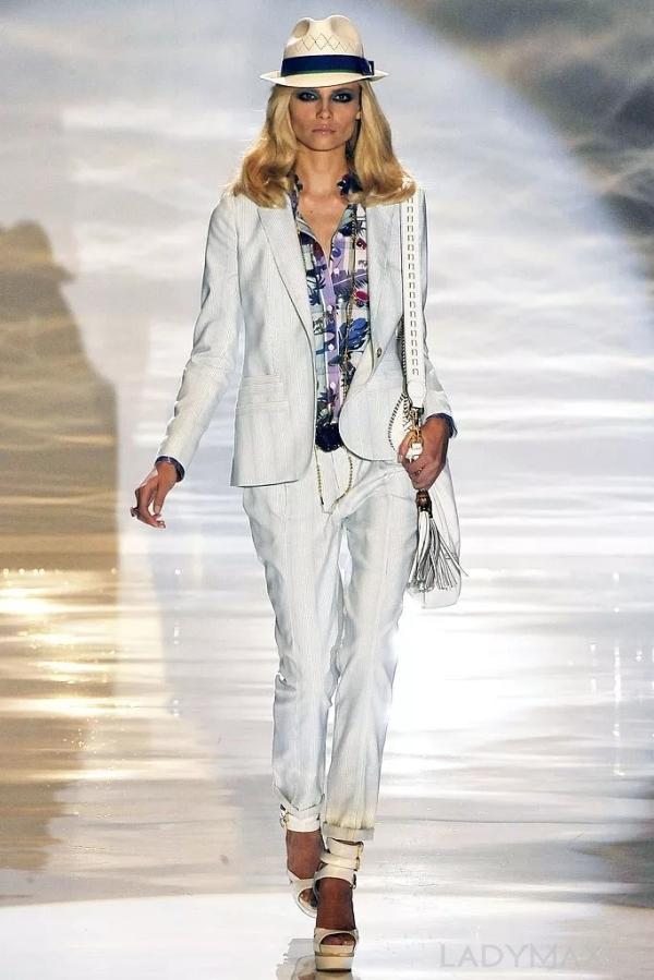 图为Gucci 2009春夏系列