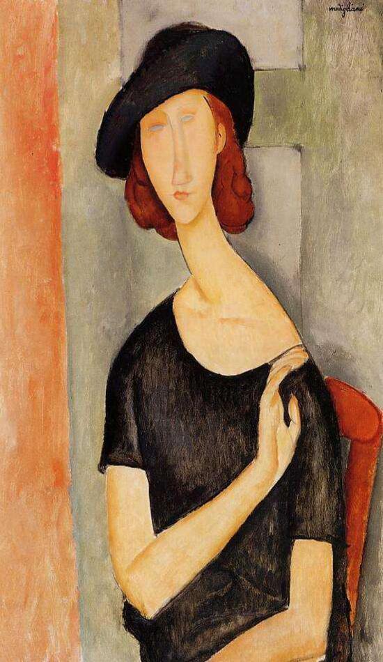莫迪里阿尼肖像画