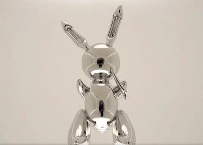 """杰夫·昆斯的艺术作品""""兔子""""(图片来源:The Federalist)"""
