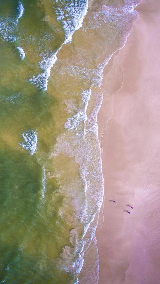 海南 三亚 白沙滩